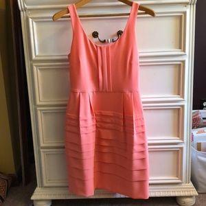 Natural Waist Pleated Dress